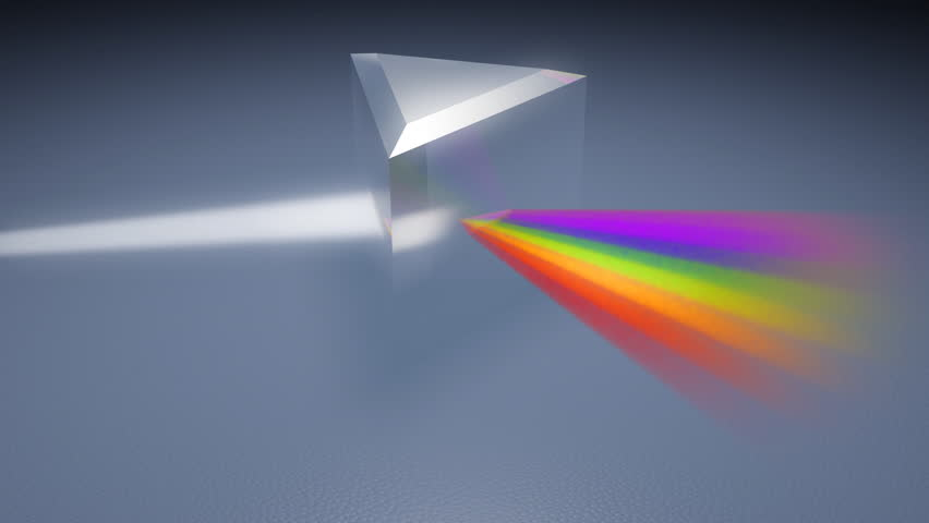 Prism Light Spectrum With Glare Stock Footage Video 100 Royalty Free 2116637 Shutterstock