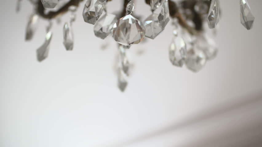 Chandelier in the restaurant on a holiday wedding | Shutterstock HD Video #21185821