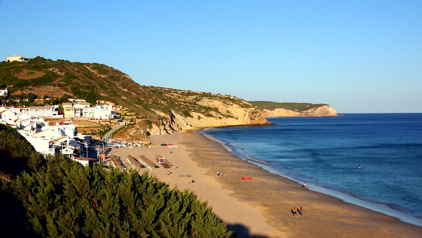 Praia da Salema - Salema, Vila do Bispo, Algarve, Portugal