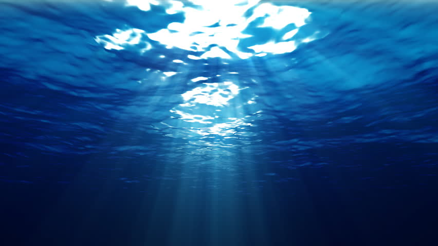 Underwater with Ray of Light  ( Hight Definition 1080p)