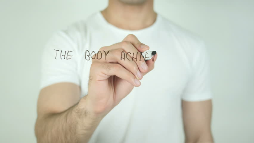 The Body Achieves What The Mind Believes, Writing On Transparent Screen | Shutterstock HD Video #21473077