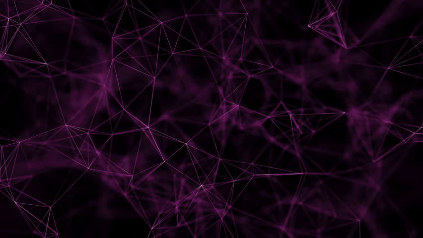 cg generated abstract geometry background using plexus plugin after effects stock footage video