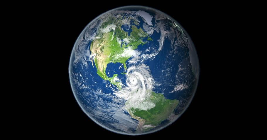Satellite View Of Daynight Transition On Northern Hemisphere With - Usa northern hemisphere