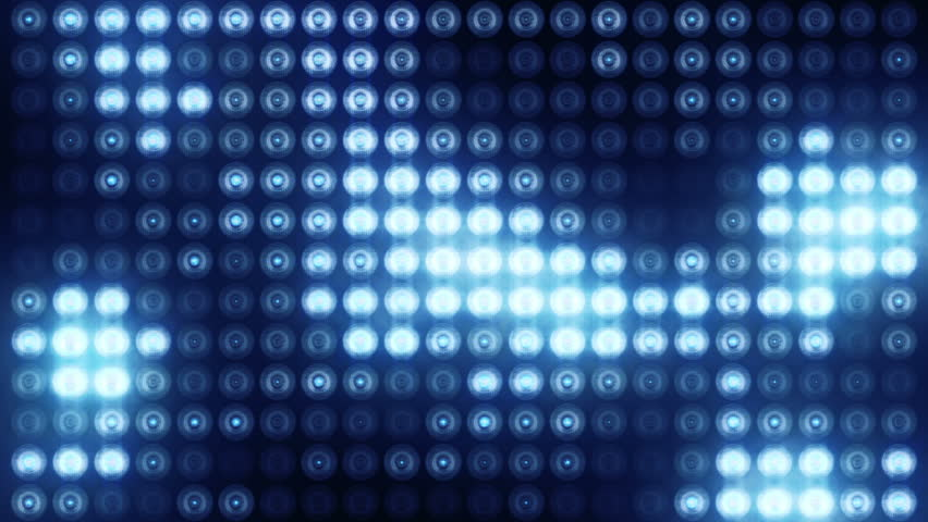 Animation of flashing light bulbs on led wall or projectors for stage lights. Animation of seamless loop. | Shutterstock HD Video #21526537
