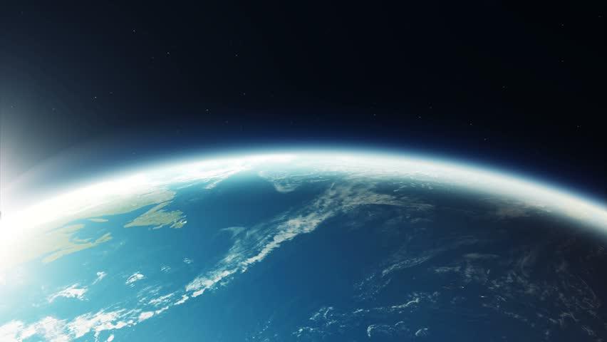 Flying Over The Japanese Islands Sunrise Over Japan Clip - Japan map satellite