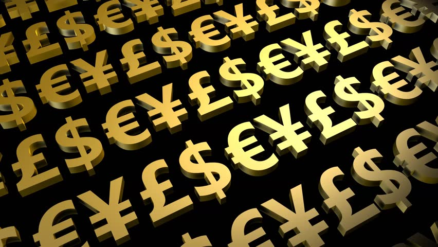 Foreign Exchange Or Forex Currency Trading Signs