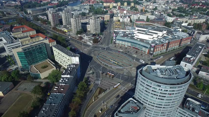 Modern Architecture Videos wroclaw city landscape reagan roundabout modern architecture rondo