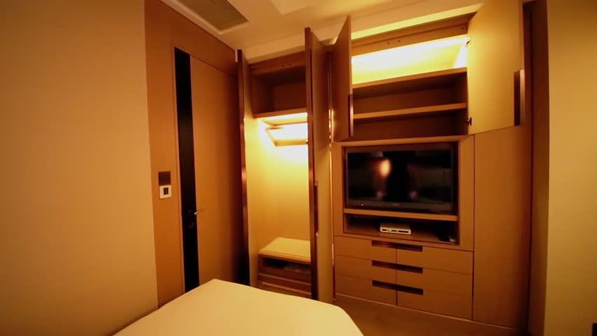 Locker Room. Interior Shot Of An Empty Gym Locker Room. Stock ...