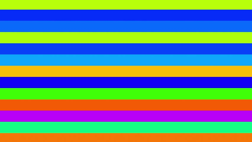 Color RGB Horizontal Bars Stripes Shifting Cycle Abstract Motion Background Loop Abstract and simple. Easy to tint, alter speed or otherwise modify. | Shutterstock HD Video #21854797