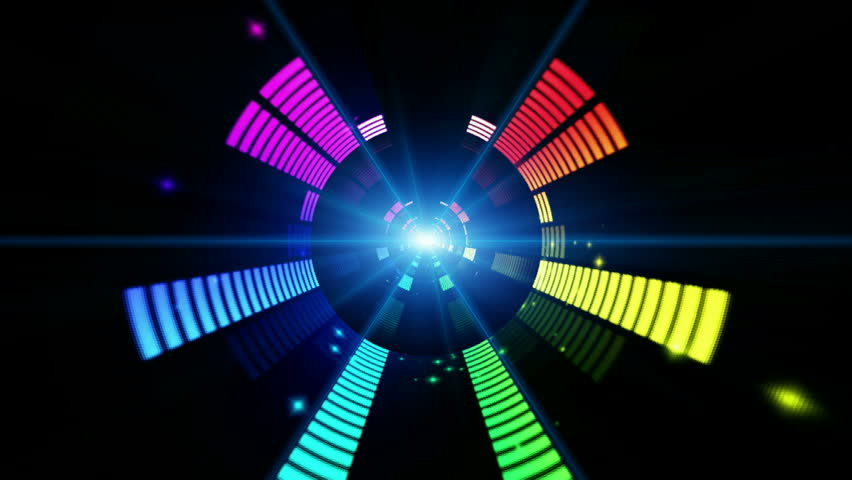 """Sound graphic equalizer  ( Series 7 - Version from 1 to 12 ) + [ Think different, show the difference between ] + """" You can find every week new Footage """"+"""" Have a look at the other Footage series """" 