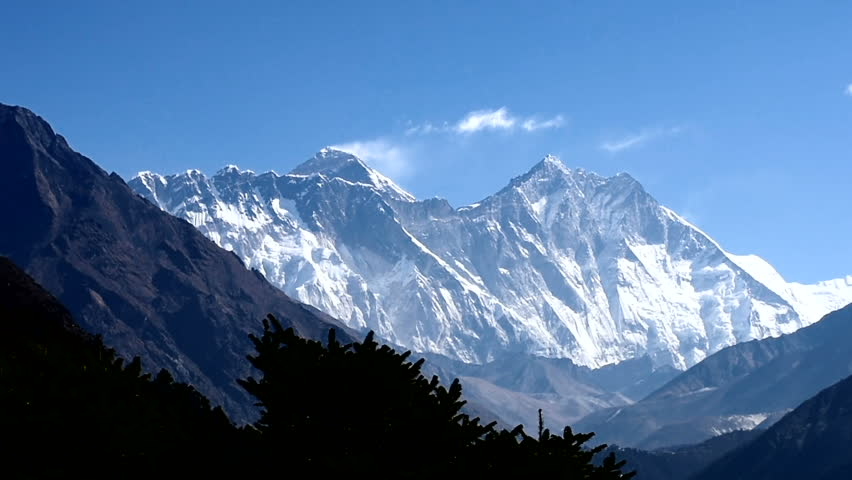 Mount Everest and Lhotse View Stock Footage Video (100% Royalty-free)  21931657 | Shutterstock