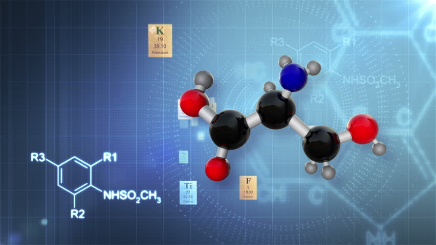 Molecular structure with elements of periodic table and chemical molecular structure with elements of periodic table and chemical formulas scientific background hd stock urtaz Image collections