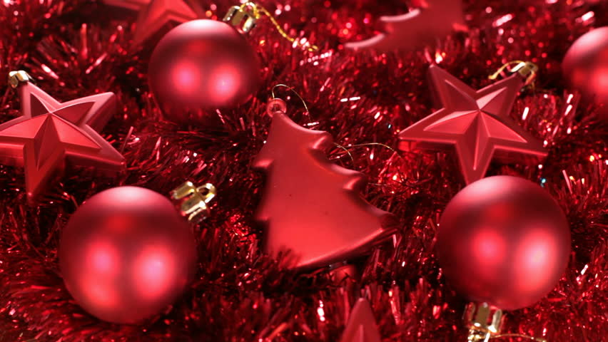 Sliding Over Beautiful Red Christmas Stock Footage Video 100 Royalty Free 21964387 Shutterstock
