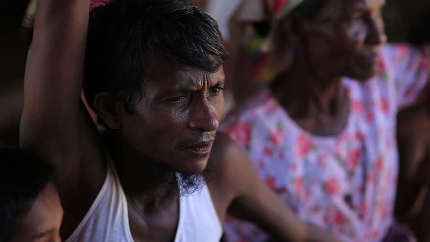 RAKHINE STATE, MYANMAR - NOVEMBER 05 : Hundreds of Muslim Rohingya are suffering severe malnutrition in overcrowded camps in Myanmar's Rakhine state, on NOVEMBER, 2015 in Sittwe, Myanmar.