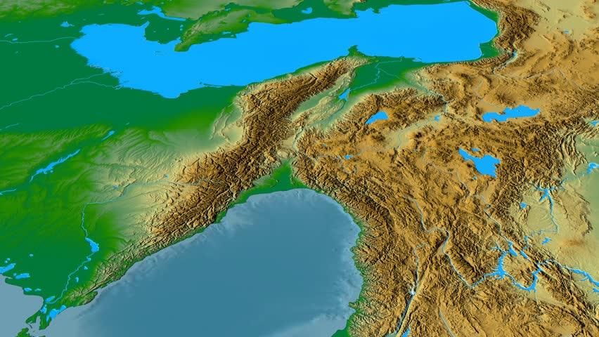 Revolution Around Caucasus Mountain Range Stock Footage Video (100%  Royalty-free) 22161007   Shutterstock