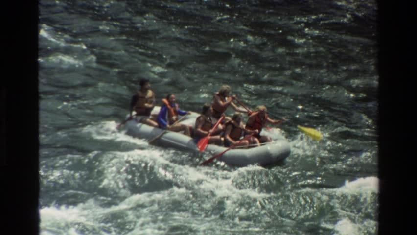 GRAND TETON WYOMING 1980: a day white water rafting.