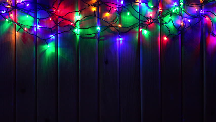 Colorful Christmas Lights Background.Led Colorful Christmas Lights On Stock Footage Video 100 Royalty Free 22388377 Shutterstock