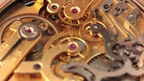 The Mechanism Of A Pocket Watch