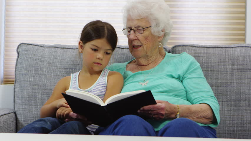 Culture about granny and teen