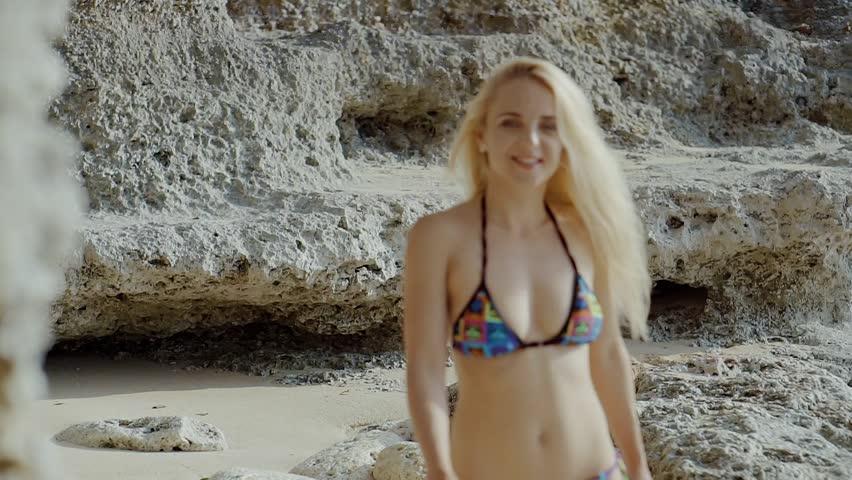Hot Blonde Shower