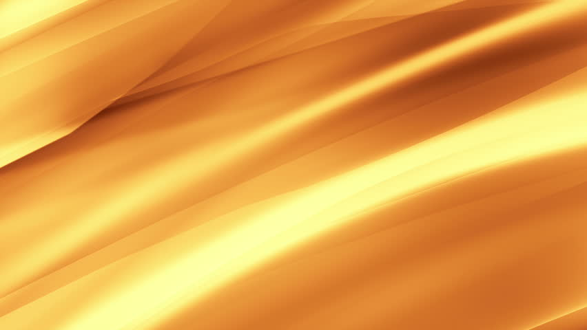 Gold abstract waving background. Seamless loop. More color options available in my portfolio.
