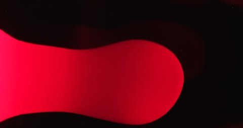 Real Lava Lamp Modern Style Visual Red Moving