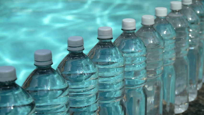 Stock Video Of Water Bottles Row Hd Row Of 2267327