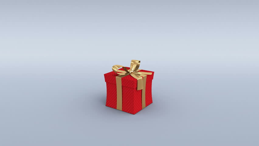 Gift boxes opening 3d animation of 6 different christmas gifts red gift box opening alpha channel and camera tracking markers included 4k 4k negle Images