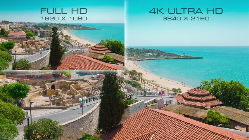 Compare New Digital Video Standard 4K Ultra Hd Vs Full Hd -5769