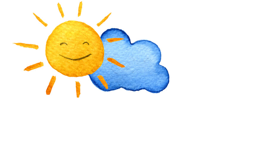 Cartoon Pictures Of Sun And Clouds | cartoon.ankaperla.com