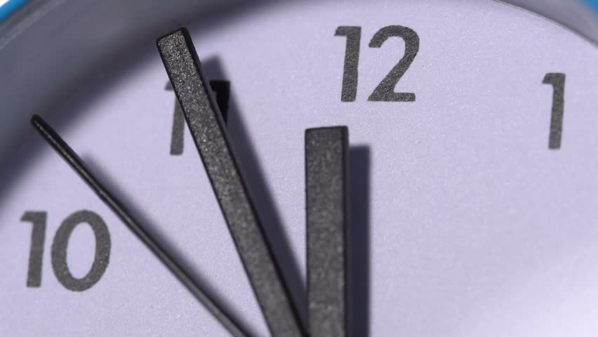 The arrows on the clock. Close-up | Shutterstock HD Video #22900567
