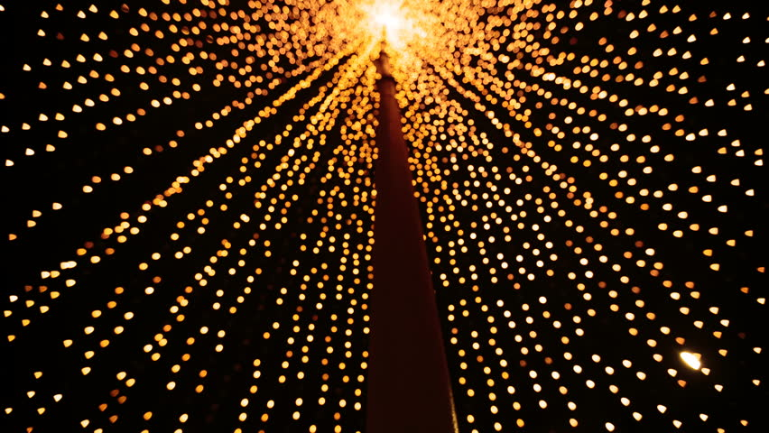 huge selection of 223e4 47cef Yellow Gold Christmas Lights. Christmas Stock Footage Video (100%  Royalty-free) 23002087 | Shutterstock