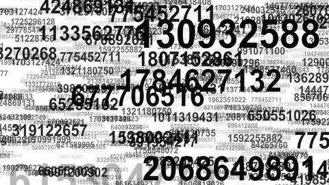 Random numbers data flow seamless loop