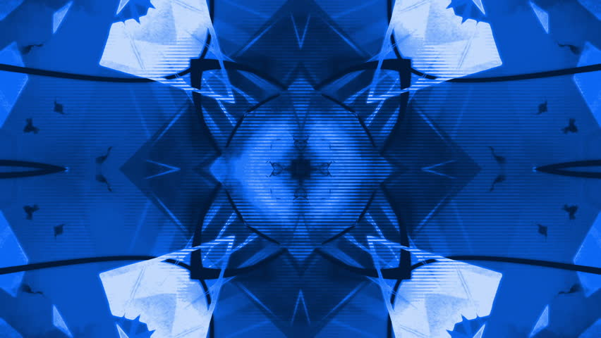 Hypnotic VJ abstract looping glitch blue animated background  | Shutterstock HD Video #23375197