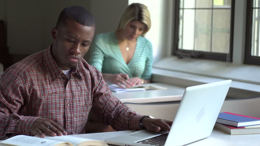 African American man studying | Shutterstock HD Video #2339087