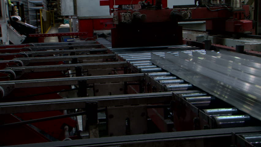 Aluminium Extrusion Production Line Factory Stock Footage Video (100%  Royalty-free) 23445247 | Shutterstock