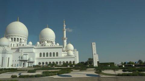 Abu Dabhi's great mosque