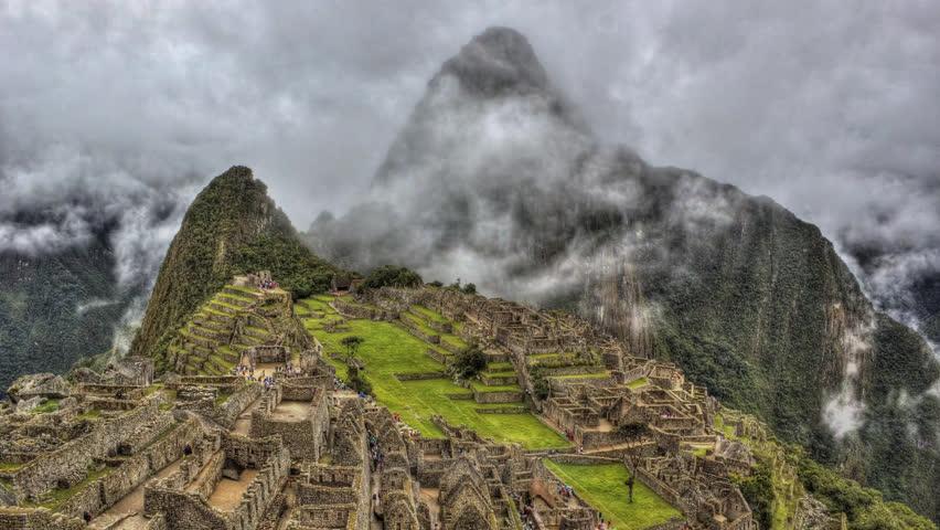 Machu Picchu HDR time-lapse