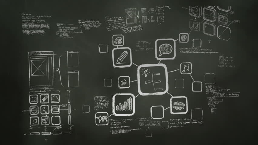 Mobile App Development Blackboard Scribblings