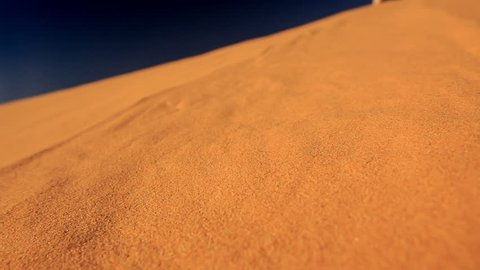 closeup quicksand of white sand dunes