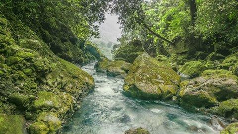 River Oaxaca Mexico.
