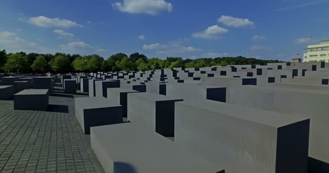 Memorial to the Murdered Jews of Europe, also known as the Holocaust Memorial. Berlin, Germany.
