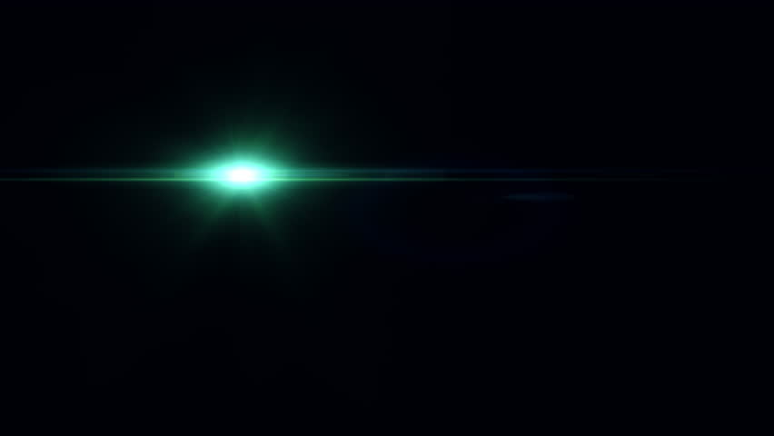 Green Light Effects Stock Footage Video: Lens Flare Light For Cinematic Text Stock Footage Video