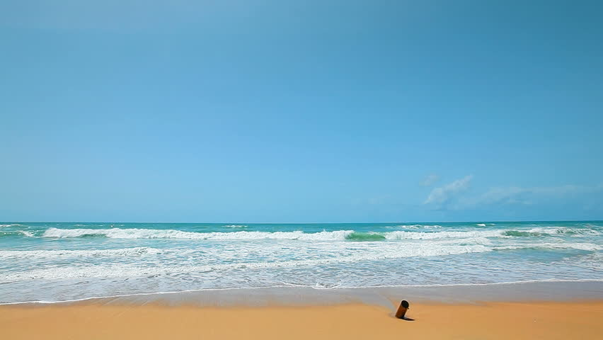 Tropical beach in sunny day #2395907