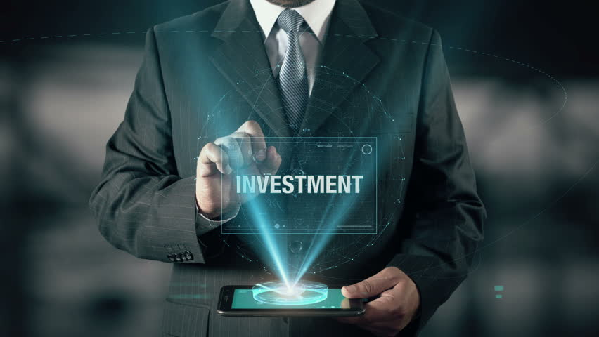 Businessman with Investment Hologram concept choose Experience from words | Shutterstock HD Video #24034117