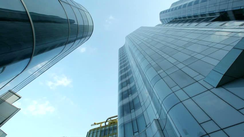 city building timelapse.