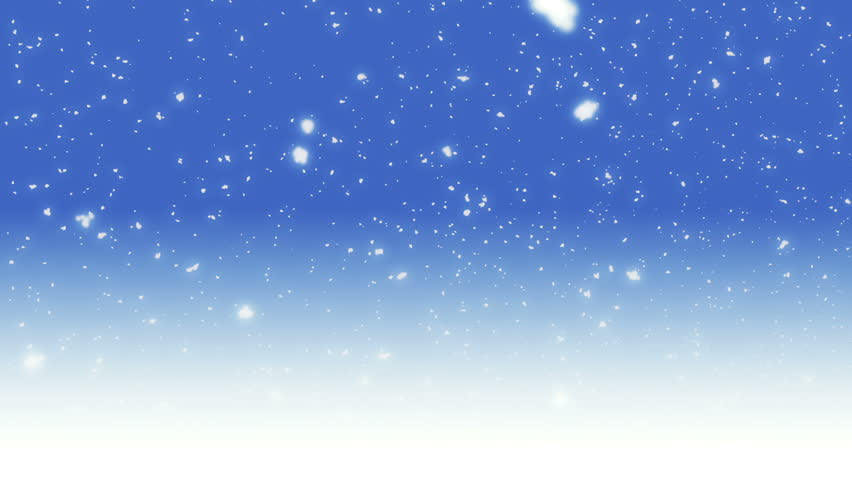 Video Footage Snow Stock On Royalty-free Background Shutterstock 100 Blue Falling 2422217