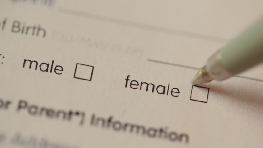 Header of gender