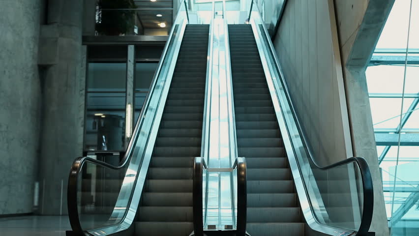 Header of escalator
