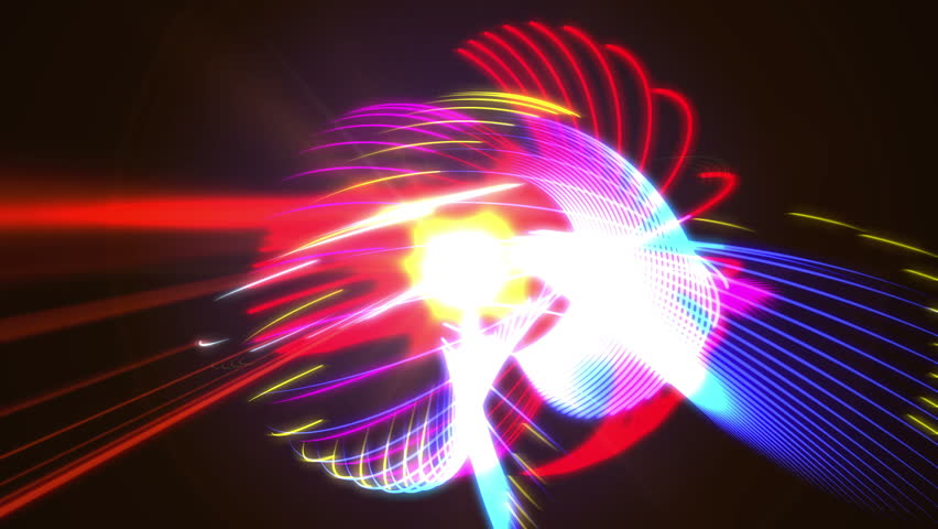4K abstract colorful light strokes   Shutterstock HD Video #24361457